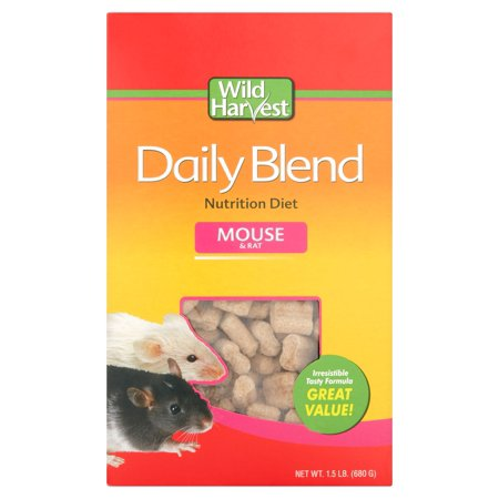 (2 Pack) Wild Harvest Mouse and Rat Premium Daily Blend Food, 1.5 lb