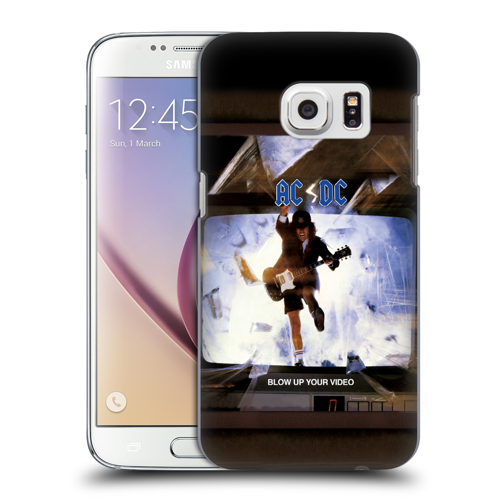 OFFICIAL AC/DC ACDC ALBUM COVER HARD BACK CASE FOR SAMSUNG PHONES 1