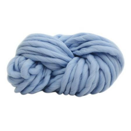 1pc Soft Chunky Wool Yarn Bulky Arm Knitting Wool Roving Crocheting