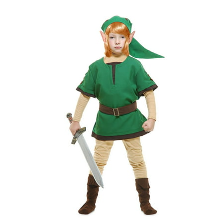Halloween Elf Warrior Child Costume ()