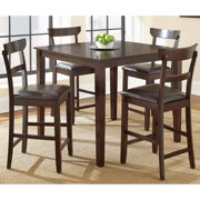 Greyson Living Hayden 5-piece Brown Counter Height Dining Set  by