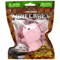 Minecraft Squishme Pig Squeeze Toy