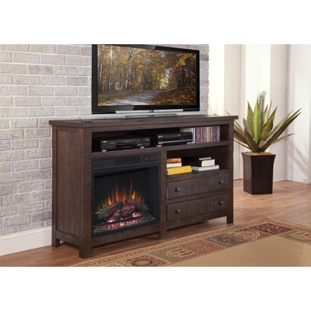 Progressive Furniture Inc Tahoe Tv Stand With Electric Fireplace