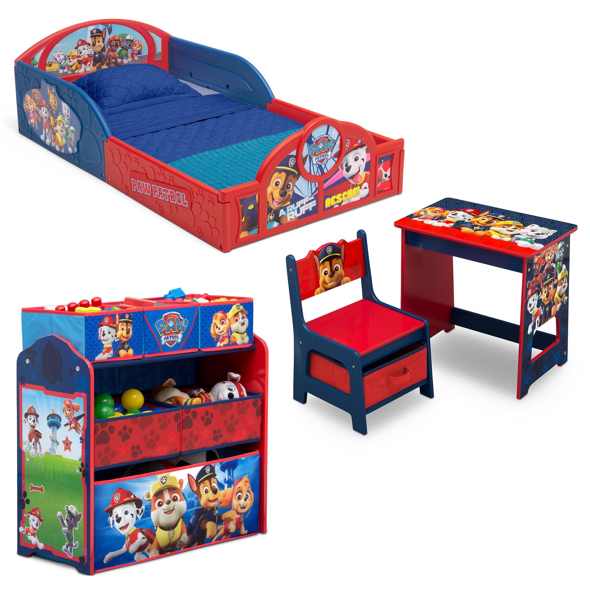Nick Jr. PAW Patrol 4-Piece Room-in-a-Box Bedroom Set by Delta