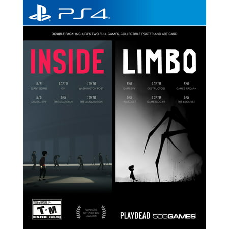 Inside/Limbo (Double Pack), 505 Games, PlayStation 4, 812872019307](Game Limbo)