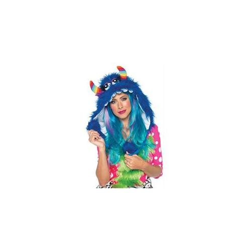 Costumes For All Occasions UAA1972 Bloo Monster Hood