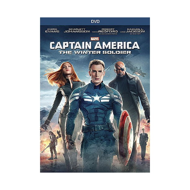 Captain America The Winter Soldier Dvd Walmart Com Walmart Com
