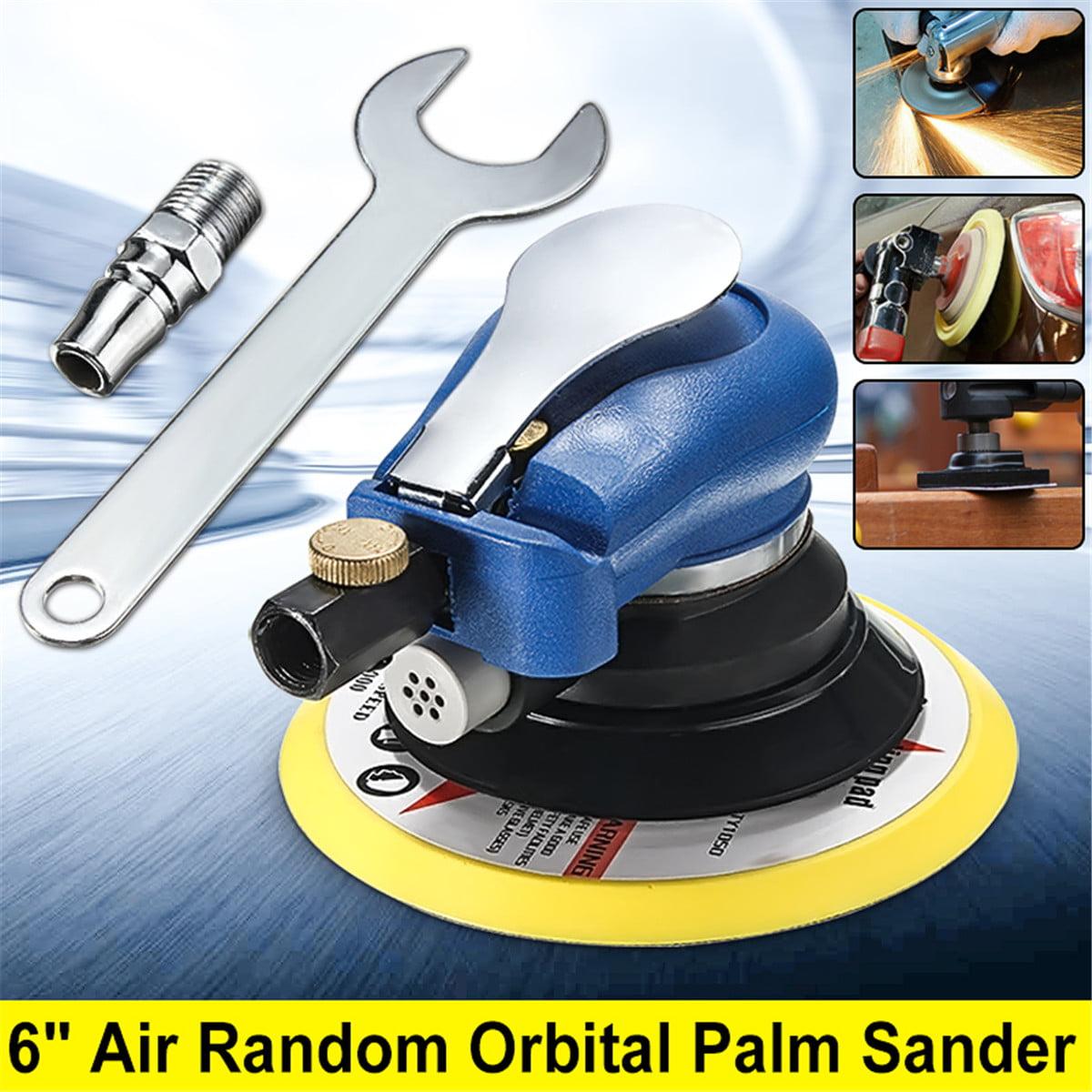 "6"" Air Random Orbital Sander Dual Action Pneumatic Orbit Polisher Grinding Sanding... by"