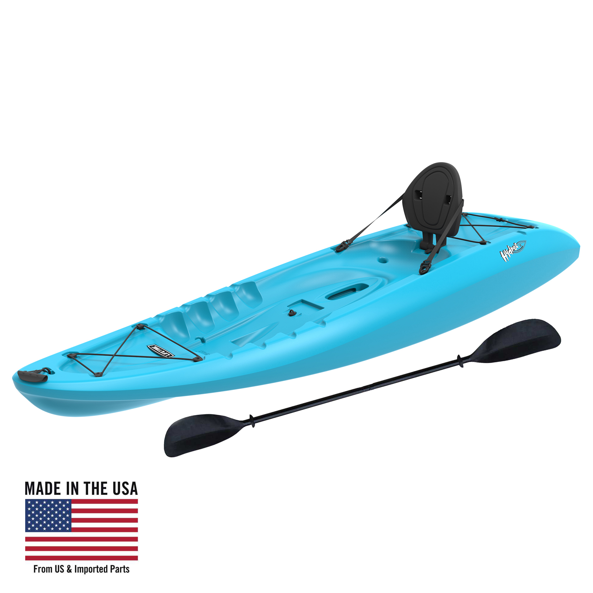 Lifetime Hydros 85 Sit-On-Top Kayak Paddle Included