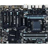 GigaByte AMD 990FX SATA 6Gb/s USB 3.0 ATX AMD Motherboard + AMD 8-Core 3.5 GHz Processor + HyperX 8GB Memory