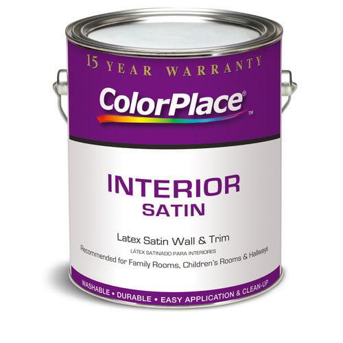 Color Place Interior Satin Light Base, 1 Gallon