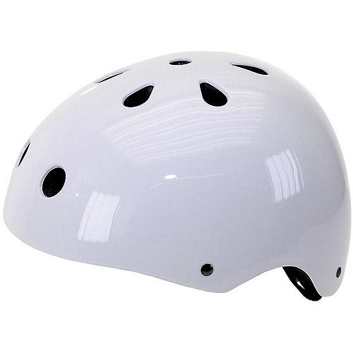 Ventura White Freestyle Bike Helmet, Large (58-61cm)