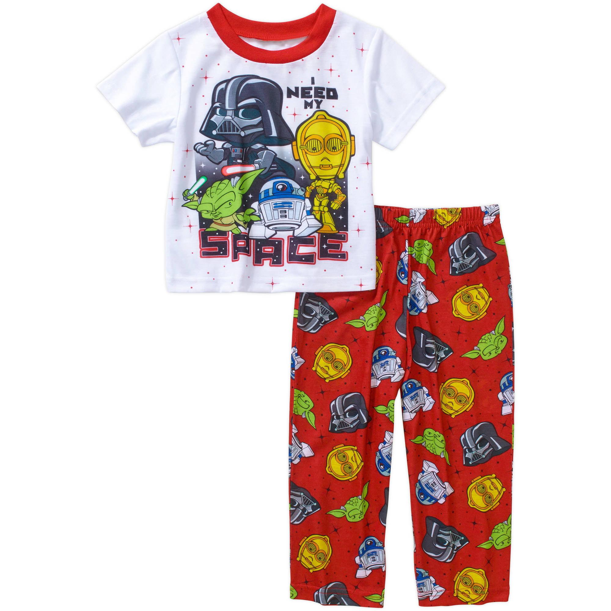 Star Wars Toddler Boy Short Sleeve Pajama Sleepwear Set