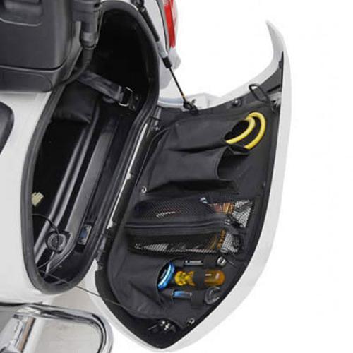 "Saddlemen Saddlebag Organizer Set 17"" x 12"" Black Fits 01-10 Honda GL1800 Gold Wing"
