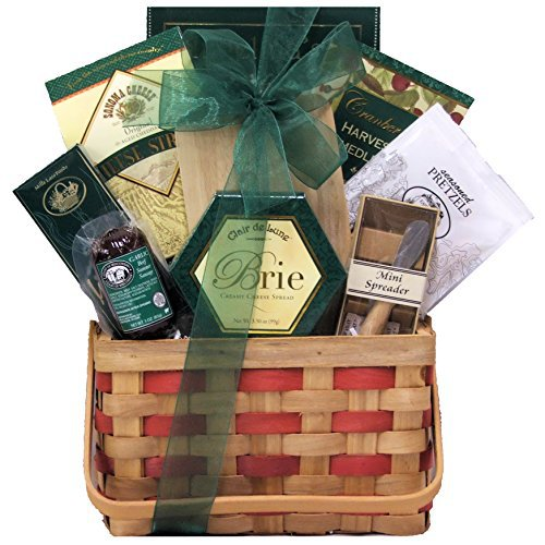 GreatArrivals Gift Baskets Picnic Time: Gourmet Cheese Gift Basket, 4 Pound