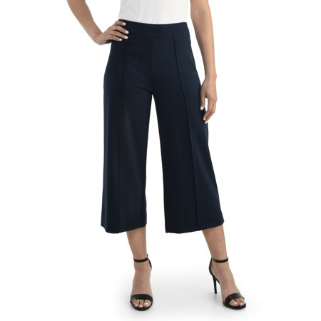 Women's Wide-Leg Crop Pant, Available in Sizes up to (Silk / Cotton Cropped Pants)