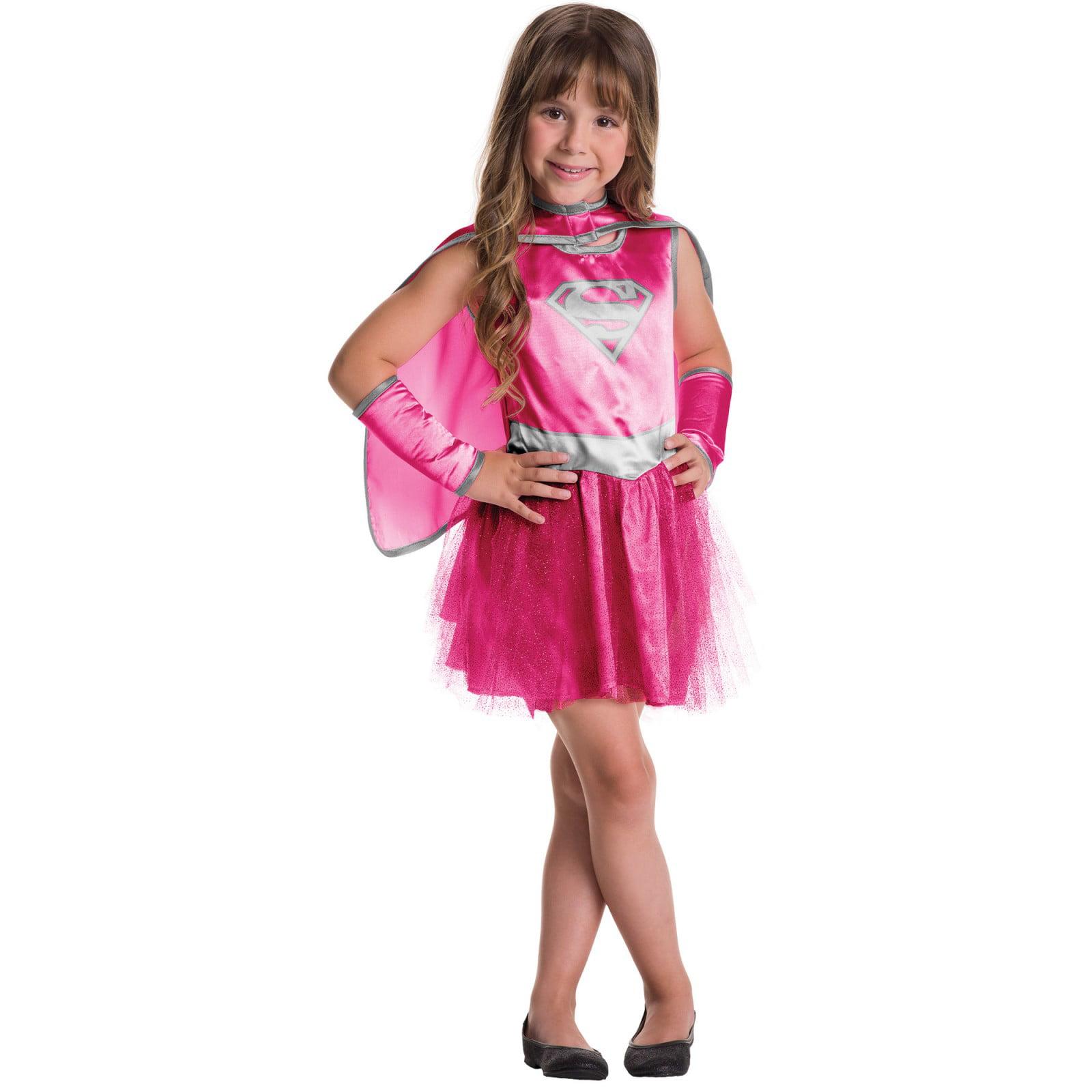Supergirl Dress and Cape Set
