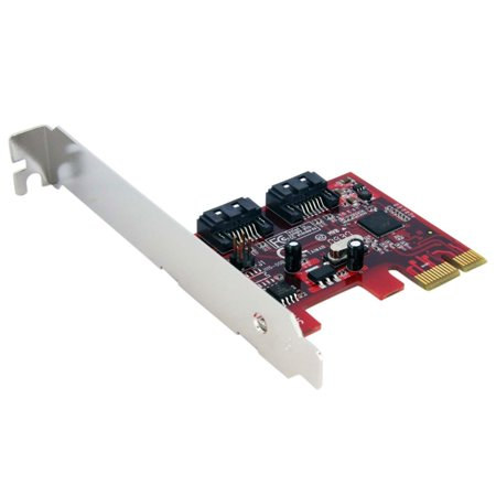 Startech 2-Port SATA PCI Express SATA Controller (Best Sata Expansion Card)