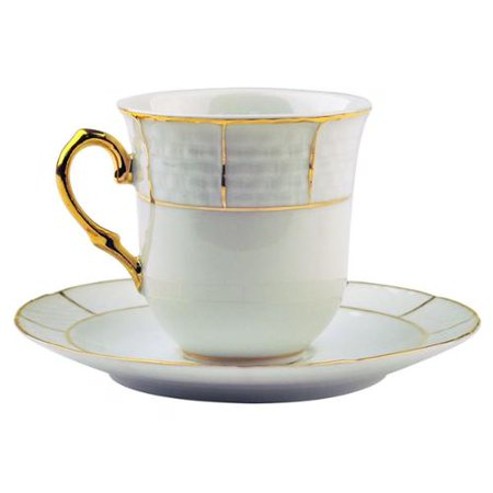 aramco imports alpine cuisine coffee cup and saucer set