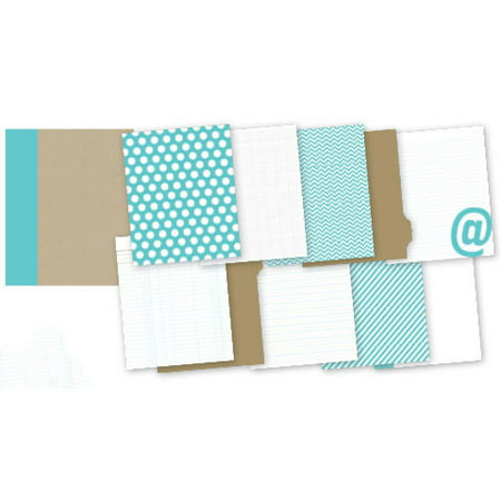Snap Binder Teal 6X8