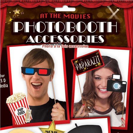 New 18x Oscars Photo Booth Selfie Props Movie Hollywood Awards Party Decoration Academy Awards Party Supplies