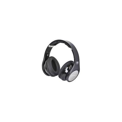 Monoprice 10245 Premium Bluetooth Hi-Fi Over-the-Ear Headphones - Black