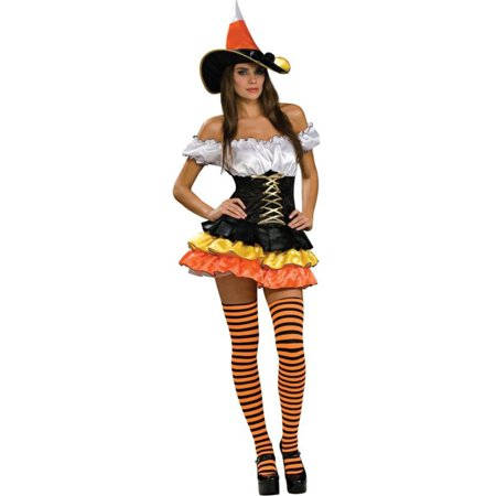 Morris Costumes Womens Classic Halloween Witch & Sorceress Outfit M, Style RU888893MD