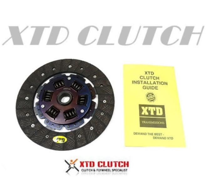 XTD STAGE 2 HD CLUTCH DISC 2002-2006 ACURA RSX HONDA CIVIC