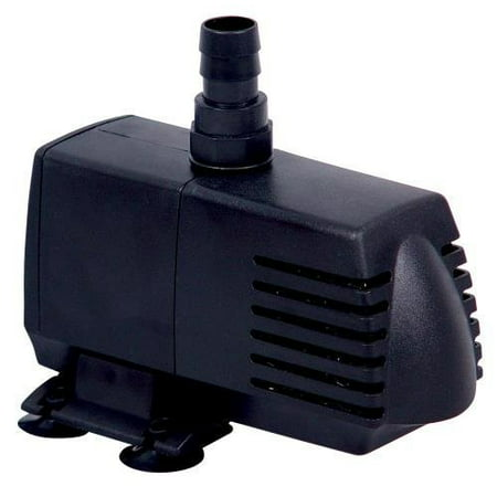 simple deluxe 120 gph ul ul listed submersible pump with 6' cord, water pump for fish tank, hydroponics, aquaponics, fountains, ponds, statuary,