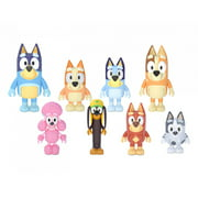 "Blueys Family and Friends 2.5"" Figures - 8 Pack"