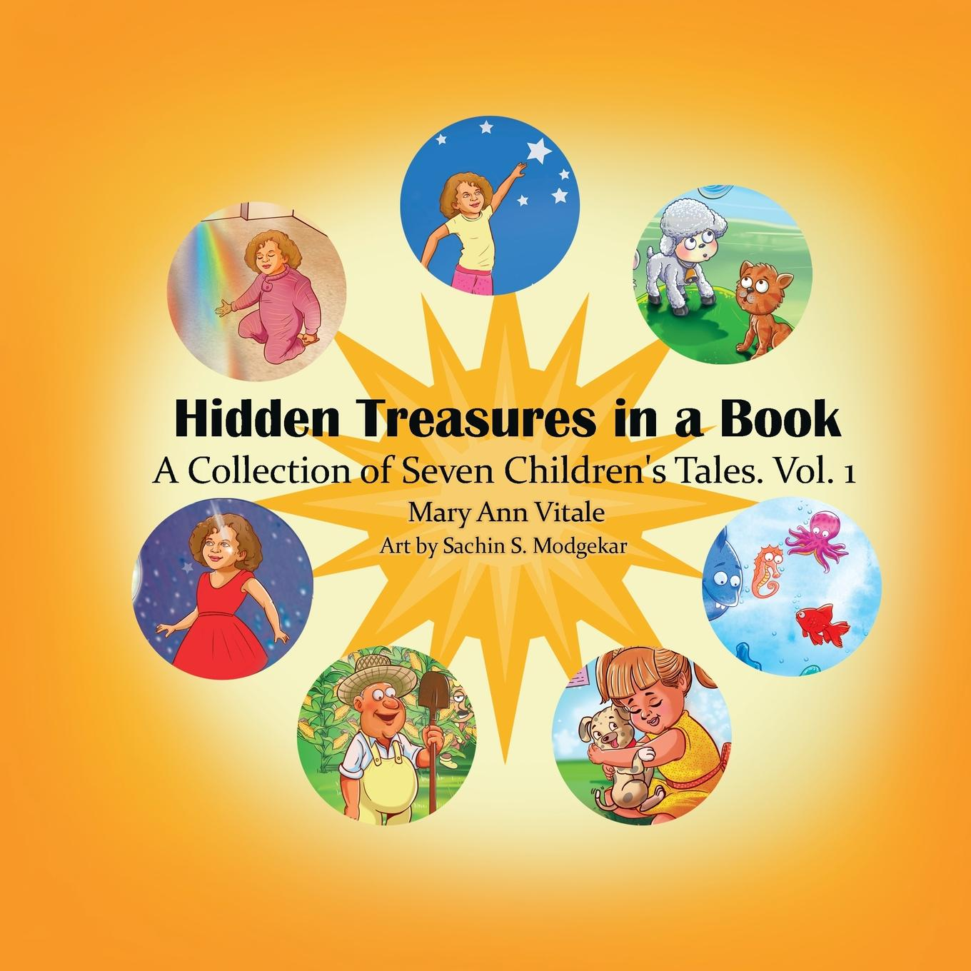 Hidden Treasures in a Book.: Hidden Treasures in a Book: A Collection of Seven Children's Tales Vol.1 (Paperback)