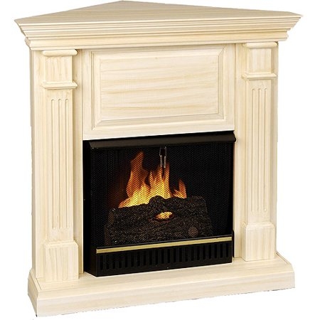 Real Flame Heartland Corner Ventless Gel Fireplace