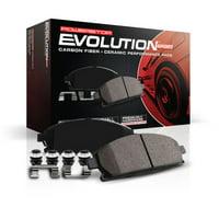 Power Stop Front Z23 Evolution Carbon-Fiber Ceramic Brake Pads Z23-1405