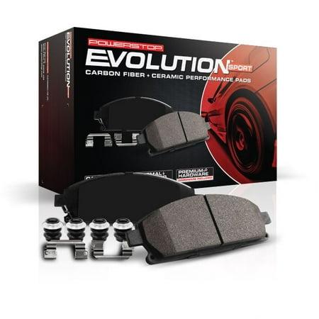 Power Stop Rear Z23 Evolution Carbon-Fiber Ceramic Brake Pads Z23-1060