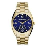 Michael Kors Men's Callie Champagne Dial Gold-tone Unisex Watch MK3345
