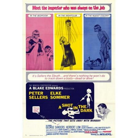 Posterazzi MOVEF6301 A Shot in the Dark Movie Poster - 27 x 40 in. - image 1 de 1
