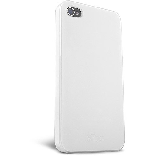iFrogz Ultra Lean Case for iPhone 4, White