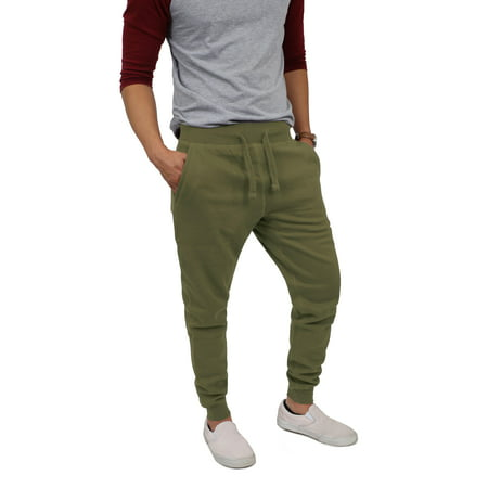 Men's Basic Slim Fit Comfort Sweatpants Jogger ()