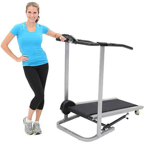 Exerpeutic 260 Manual Treadmill with Safety Handle and Pulse