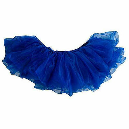 School Color Tutu, Blue