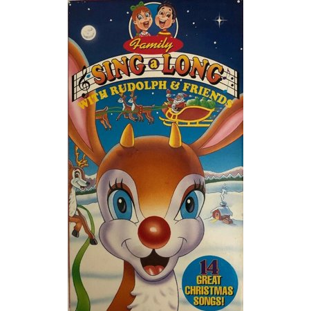 Rudolph And Friends Family Sing-A-Long VHS 14 Great Christmas Songs Volume One ()