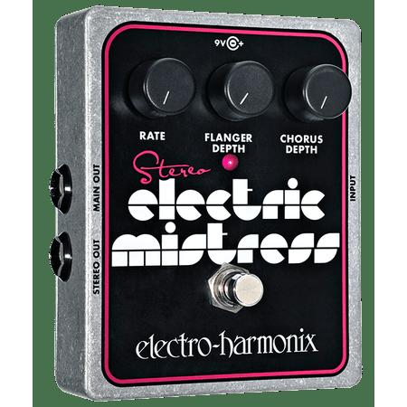 Electro-Harmonix Stereo Electric Mistress Flanger/Chorus (Stereo Volume Pedal)
