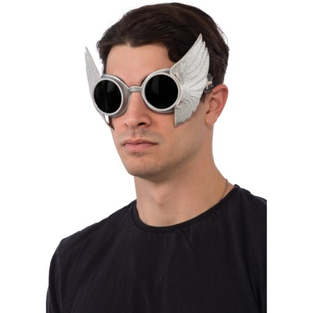 Adults Mens Marvel Thor Goggles With Strap Costume Accessory - Thor Mens Costume