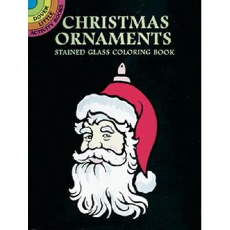 Christmas Ornaments Stained Glass Coloring Book](Stained Glass Mlp)