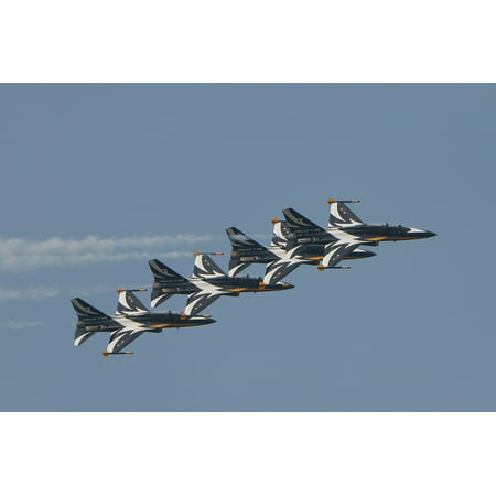 Canvas Print Fighter Air Show Republic of Korea Plane Stretched Canvas 10 x 14