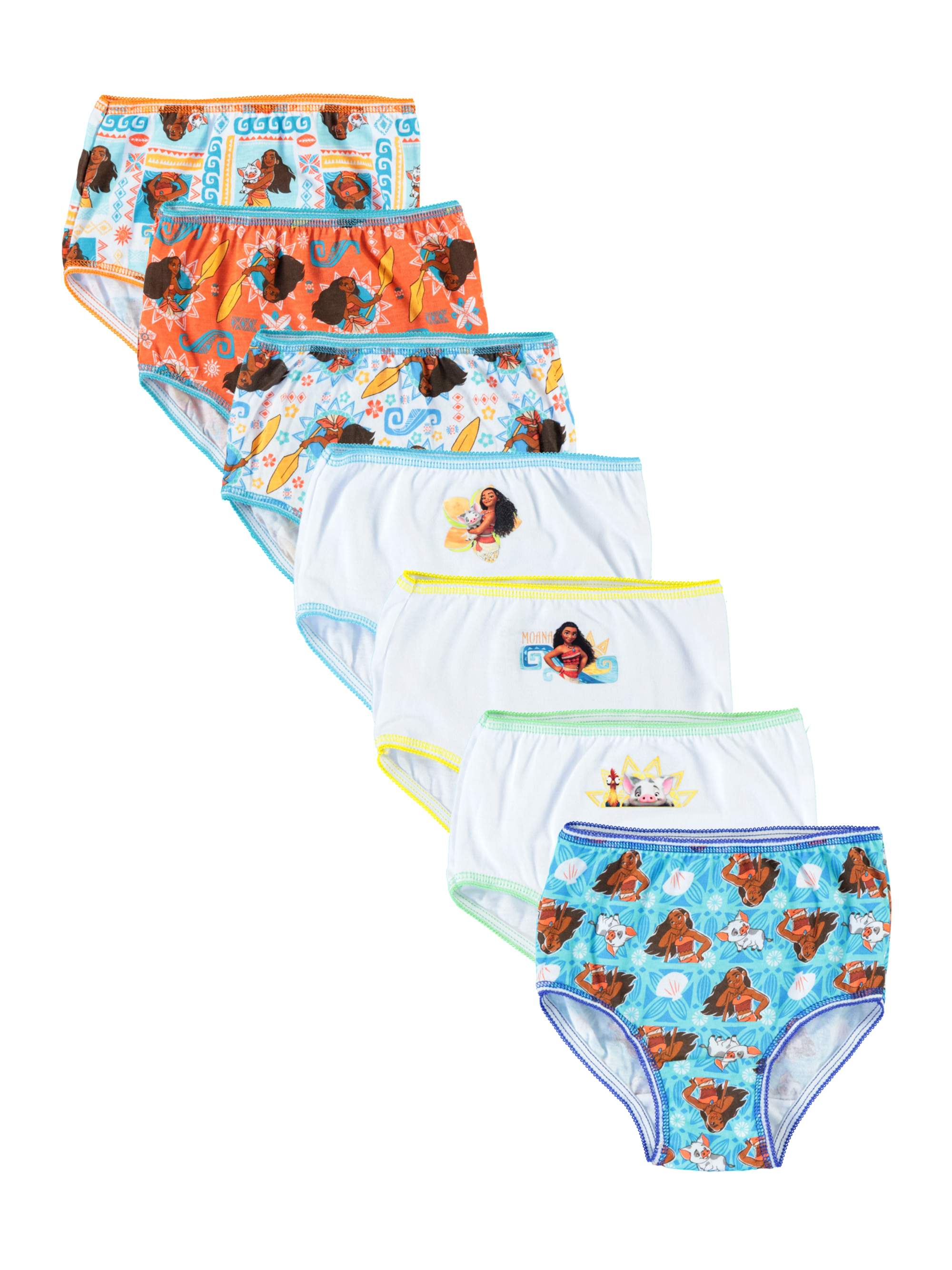 Moana 7pk Panty (Toddler Girls)
