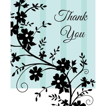 Bridal Shower Thank You Gifts (Bridal Shower 'Two Love Birds' Thank You Notes w/ Envelopes)