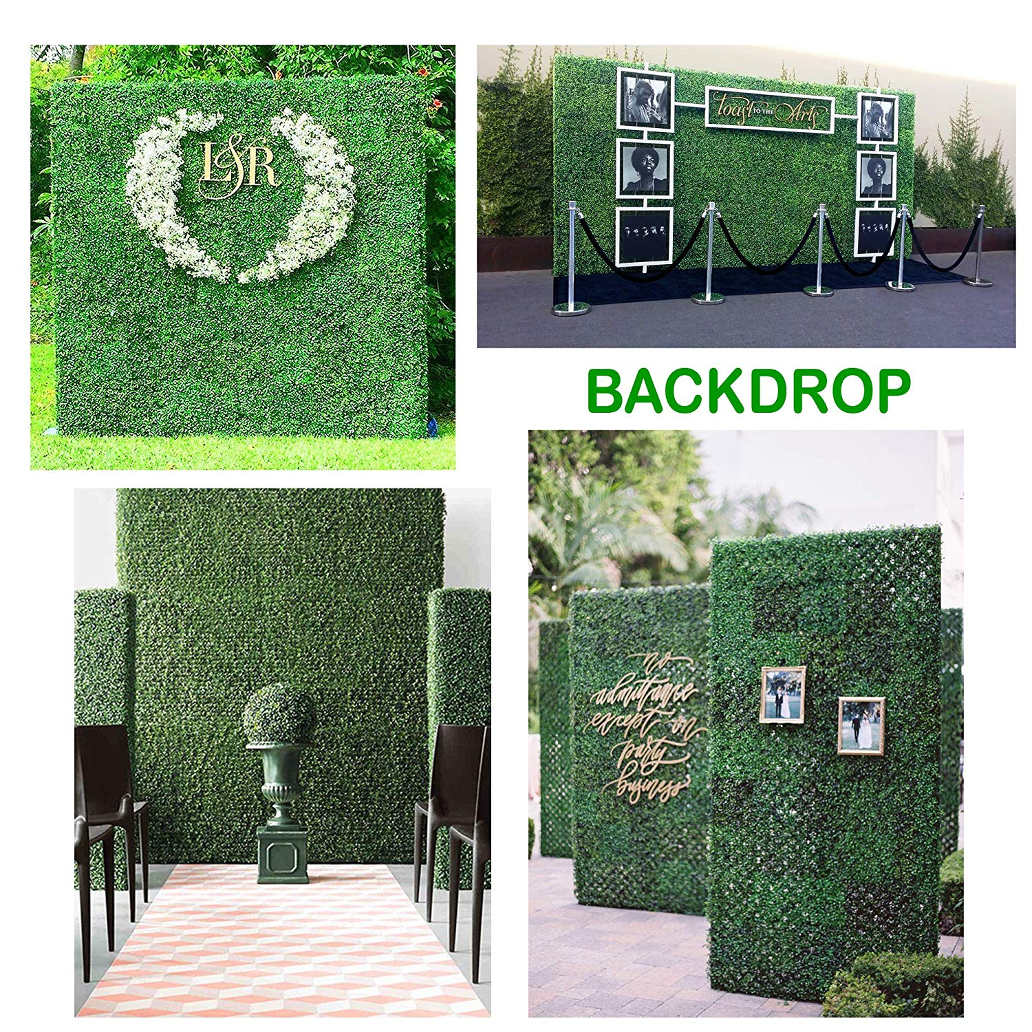 Gorgeoushome Artificial Hedge Plant Panels Privacy Screen Hedge Greenery Ivy Privacy Fence Screening For Both Outdoor Or Indoor Decoration 20 X 20 Milan 12pc Walmart Com Walmart Com