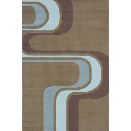 Momeni  Lil Mo Hipster Groovy Stripe Green Rug  8 X 10