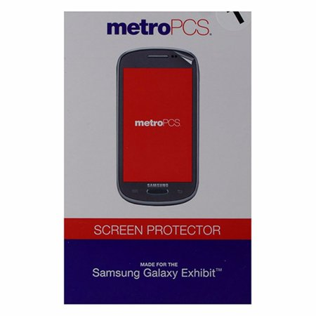 Metropcs Screen Protector For Samsung Galaxy Exhibit   Clear